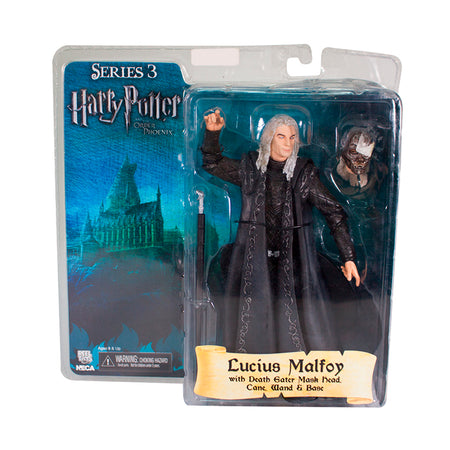 MUÑECO COLECCIONABLE HARRY POTTER SERIES 3 LUCIUS MALFOY