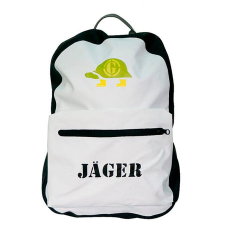 Morral impermeable Jager unisex blanco