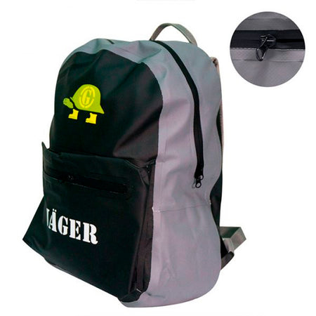 Morral impermeable Jager unisex gris