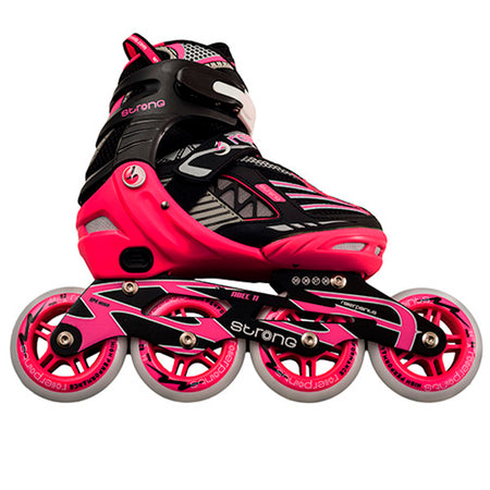 Patines Roller Points Strong Fucsia