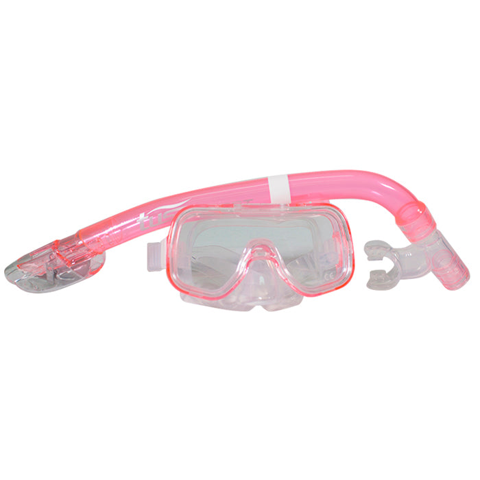 SET CARETA Y SNORKEL TUSA SPORT MINI KLEIO