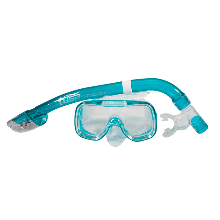 SET CARETA Y SNORKEL TUSA SPORT YOUTH
