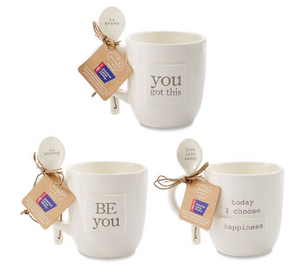 Ceramic Pazitive Mug Sets
