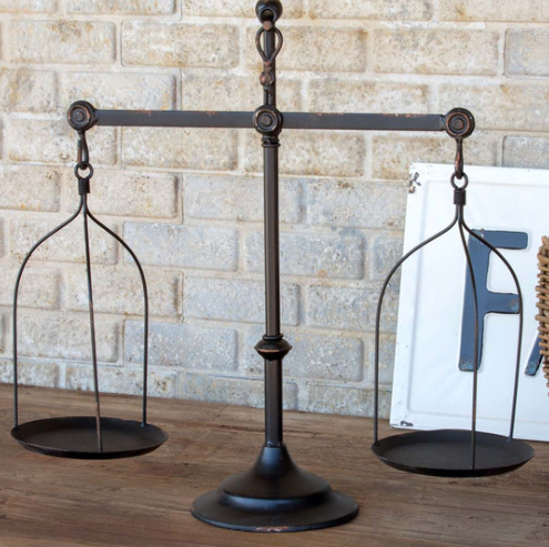 Decorative Antique-Style Scale