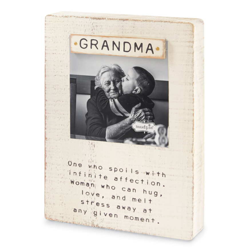 Washed Wood Grandma Frame
