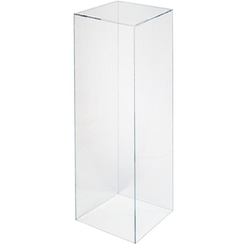 Clear Acrylic Plinth Hire - 110cmH | LANE 88