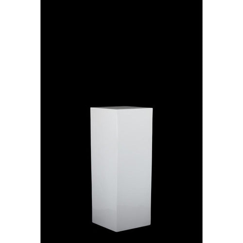 High Gloss White Plinth Hire - 70cmH - Brisbane | LANE 88