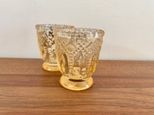 Load image into Gallery viewer, Glass Votive Candle Holder Heirloom Gold - Hire | LANE 88