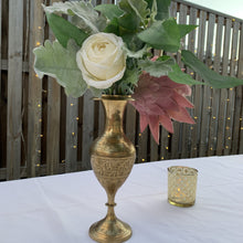 Load image into Gallery viewer, Brass Vase - Hire