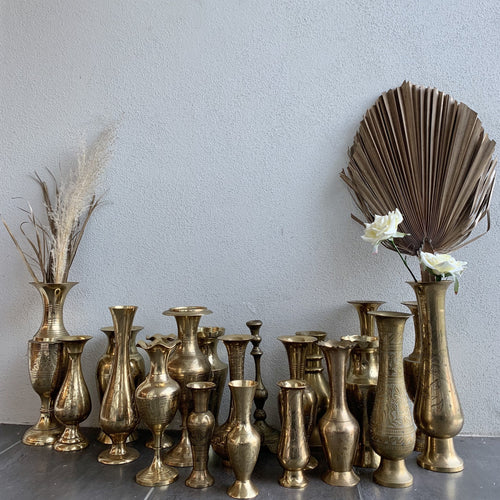 Brass Vase - Hire | LANE 88