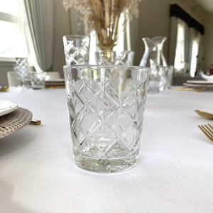 Cut Water Glass Hire