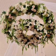 Load image into Gallery viewer, Oversized Floral Chandelier 2m Diameter - Serviced Hire