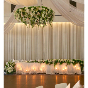 Oversized Floral Chandelier Hire - Brisbane | LANE 88