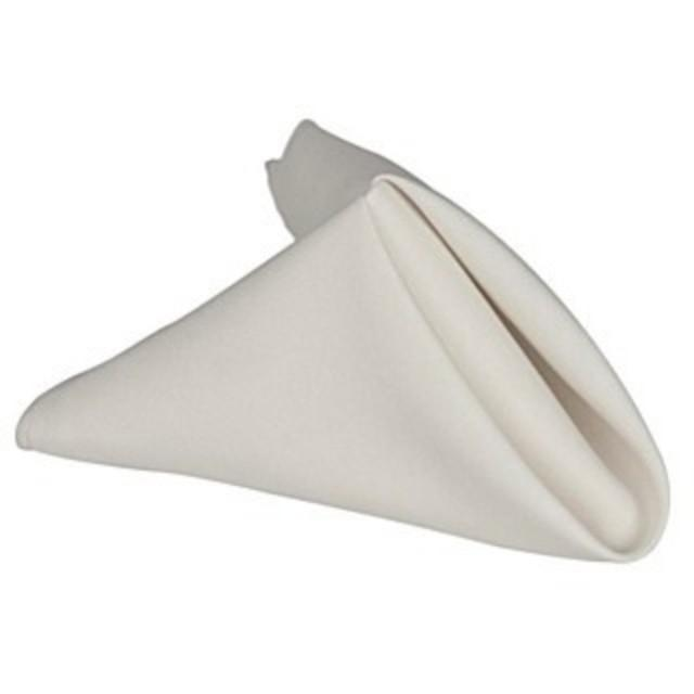Soft Polyester Table Napkin Hire - White | LANE 88