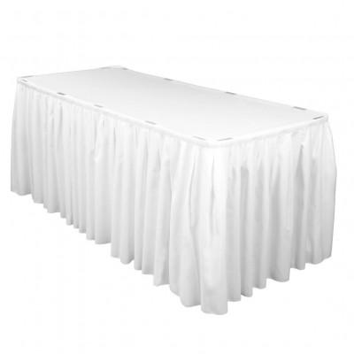 Table Skirting Hire - White - Brisbane | LANE 88