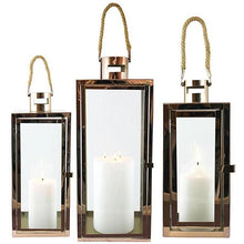 Load image into Gallery viewer, Lantern Bronte With Turret Set Of 3 56Cmh Hire | Dianna-Lynn Decor