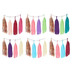 Tassel Garland Buntings (4 in 1)