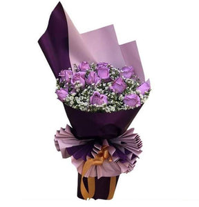 Flower Bouquet - Purple Dreams