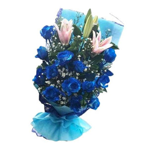 Flower Bouquet - Zircon Breeze