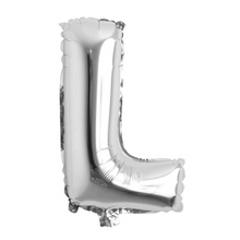 "Load image into Gallery viewer, Foil Balloon Letter 16"" (Silver)"