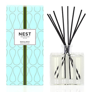 Nest - Moss and Mint Reed Diffuser (175ml)