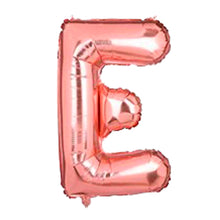 "Load image into Gallery viewer, Foil Balloon Letter 16"" (Rose Gold)"