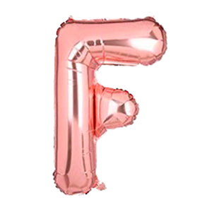 "Foil Balloon Letter 16"" (Rose Gold)"
