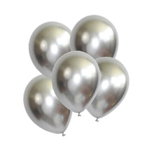 "Load image into Gallery viewer, Chrome Balloon 12"" (5 pcs)"