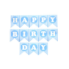 Load image into Gallery viewer, Happy Birthday Banner Stripes