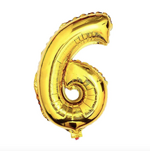 "Load image into Gallery viewer, Foil Balloon Number 32"" (Gold)"