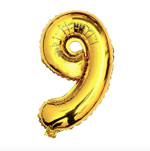 "Foil Balloon Number 32"" (Gold)"