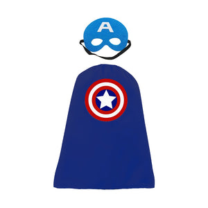Mask and Cape - Captain America