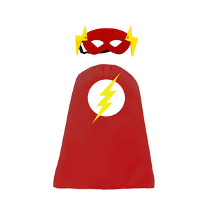 Mask and Cape - The Flash