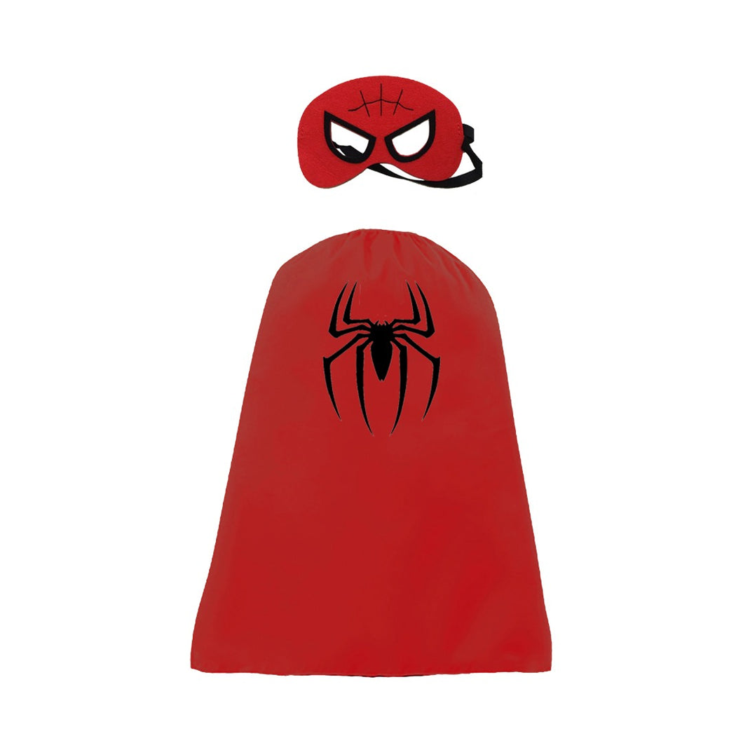 Mask and Cape - Spiderman