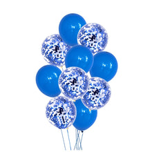 "Load image into Gallery viewer, Balloon Set - Metallic and Confetti 12"" (10 pcs)"