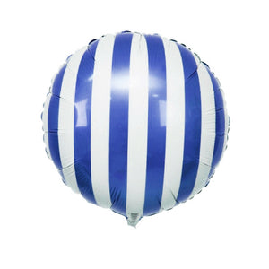 Foil Balloon with Stripes