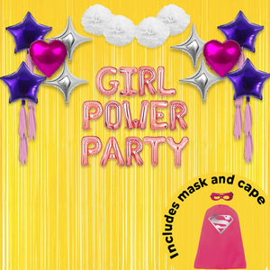 Kiddie Bundles - Super Girl Soiree