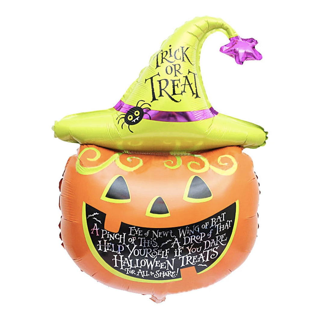 Foil Balloon Trick or Treat Pumpkin