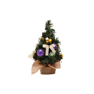 Mini Christmas Tree - Purple