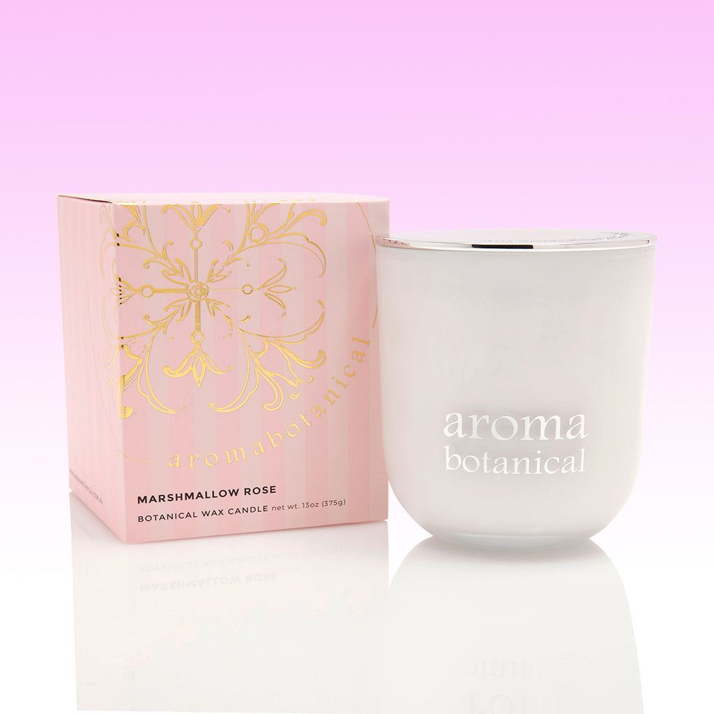 Aromabotanical Candle - Marshmallow Rose