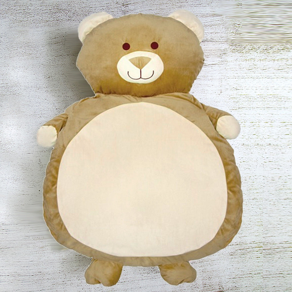 Bath Mat Teddy Cream