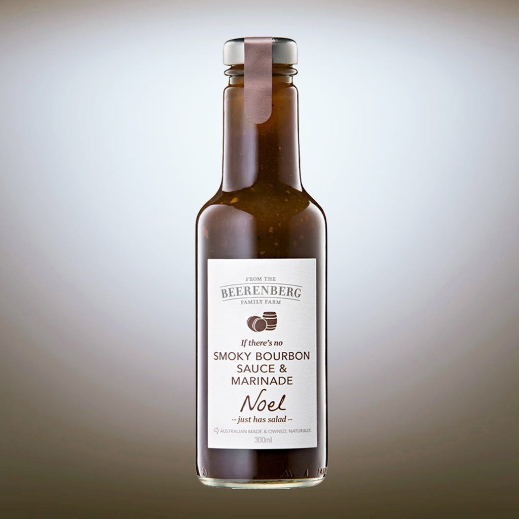 Beerenberg Smoky Bourbon Sauce 300ml