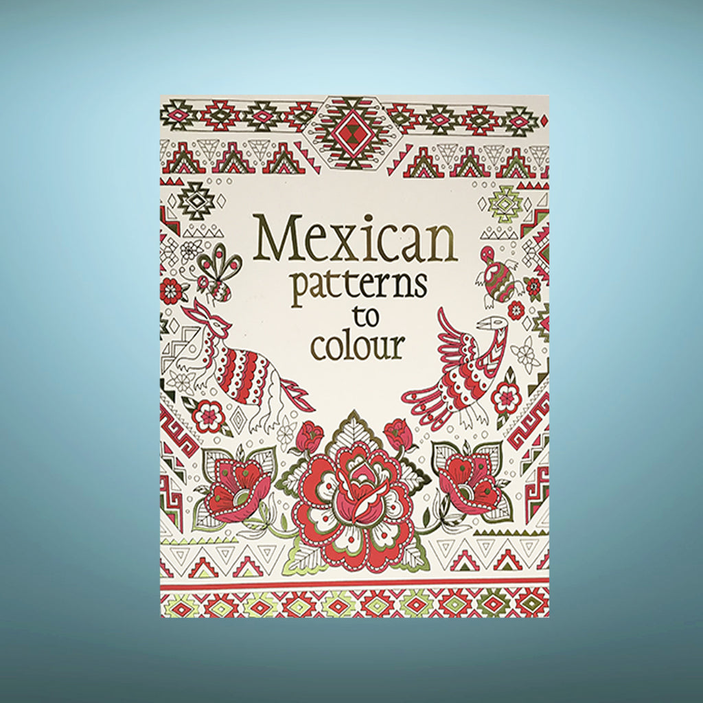 Colouring Book - Mexican
