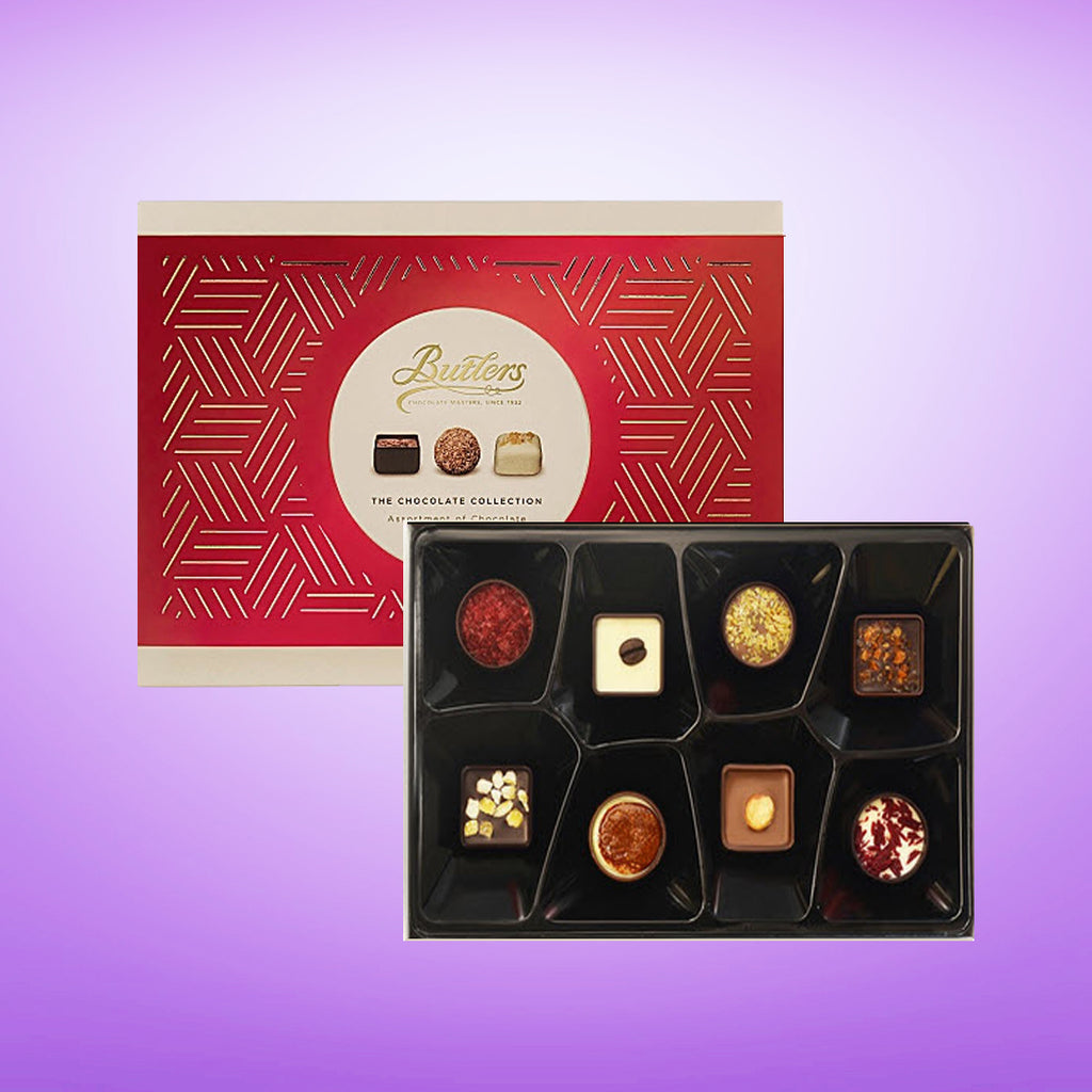 Butlers Red Choc Box 100g