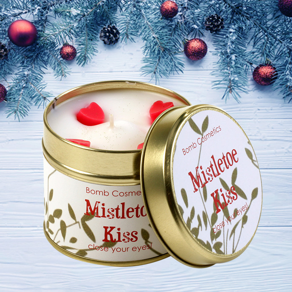 Mistletoe Kiss Scented Candle