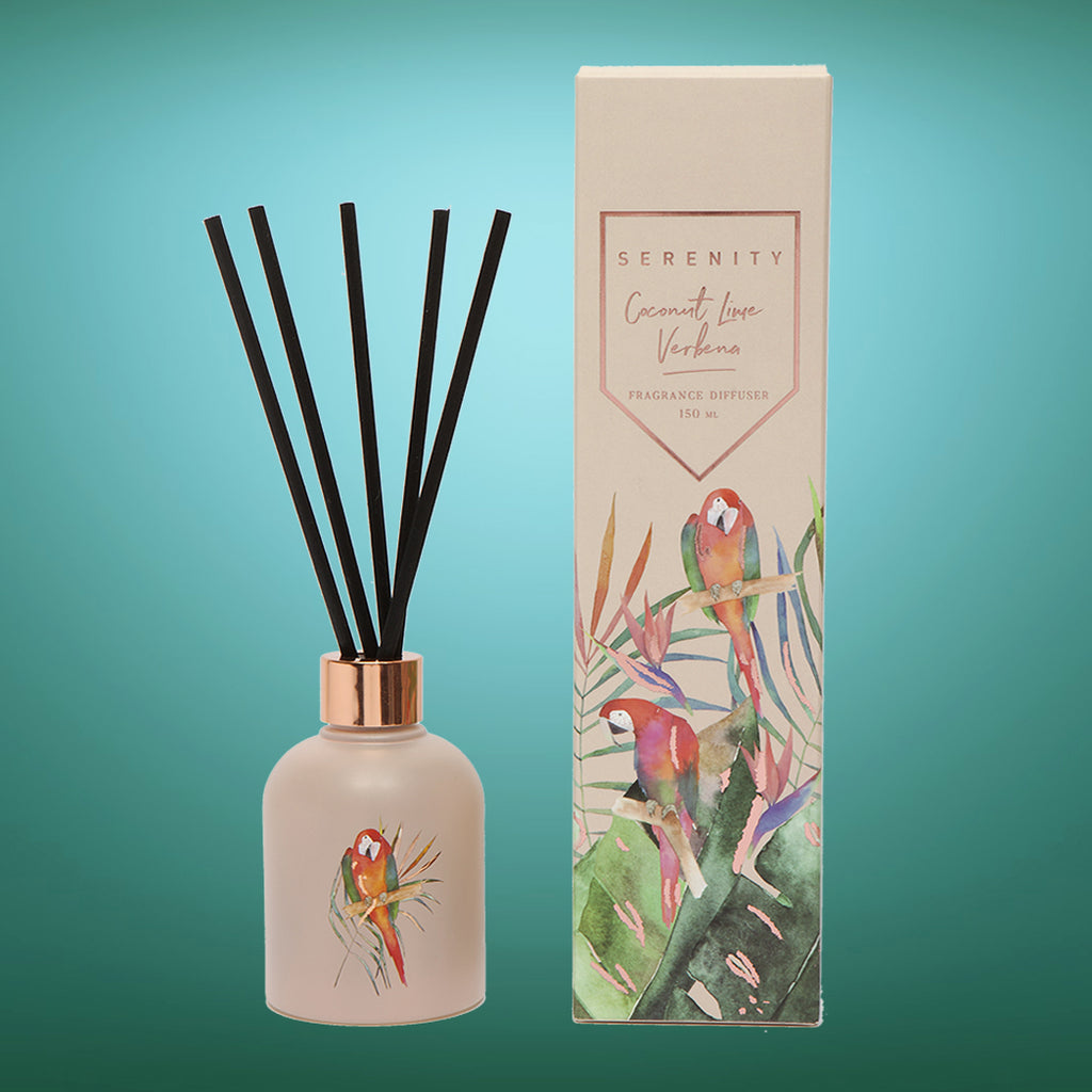 Coconut & Lime Verbena Reed Diffuser
