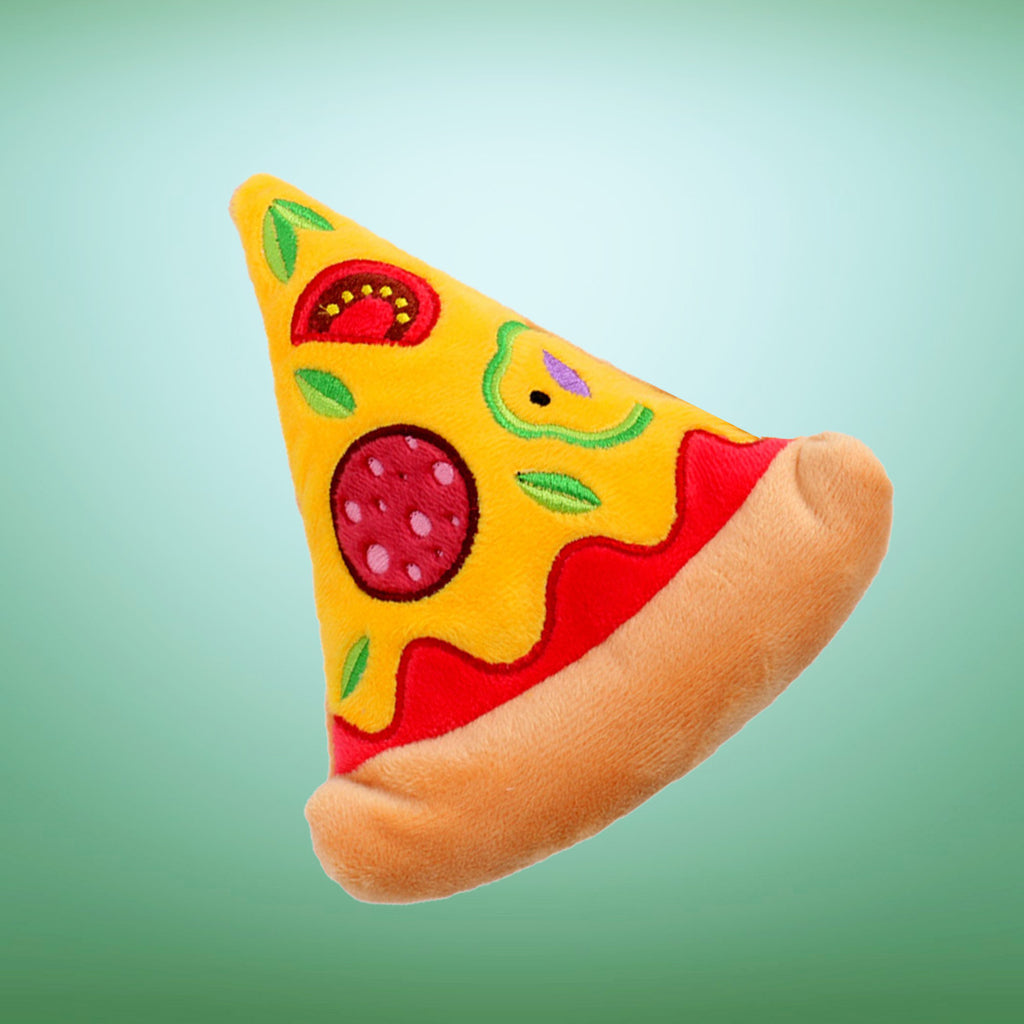 Squeaky Pizza Toy