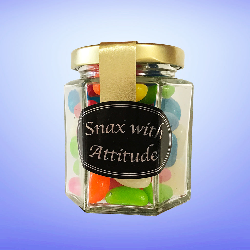 Snax with Attitude Jelly Beans 100g