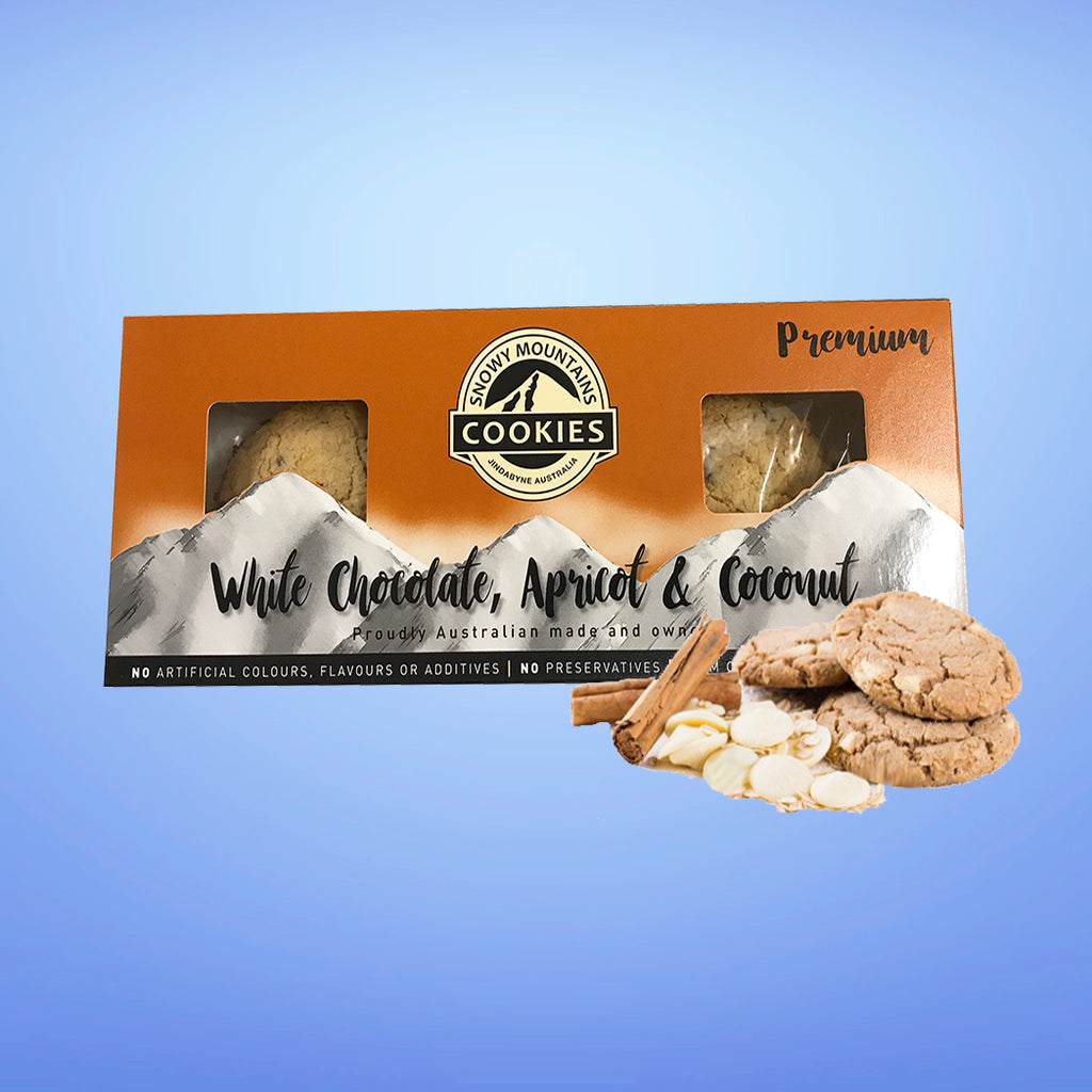 White Chocolate & Apricot Cookies 120g
