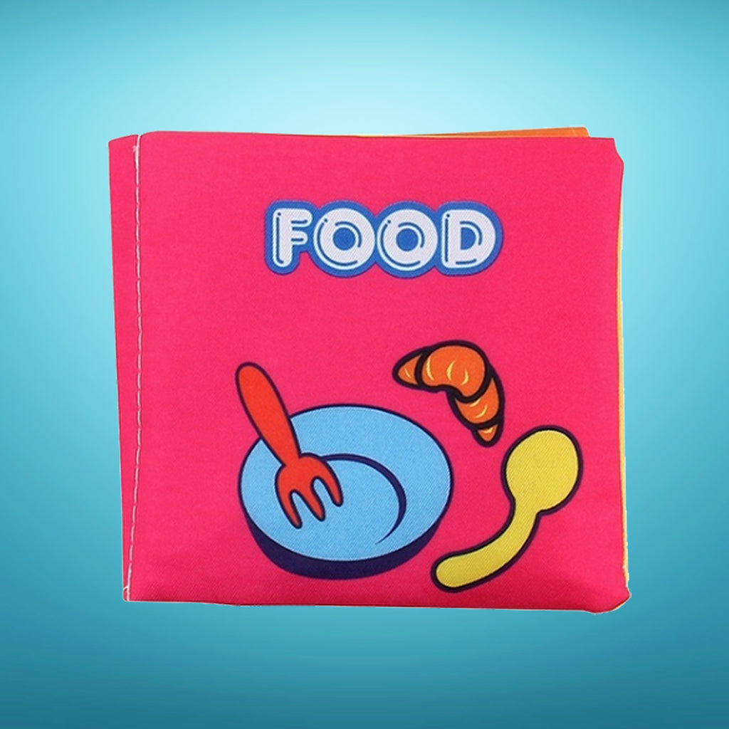 Soft Cloth Baby Book - Food
